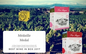 Our wine in box reawarded!