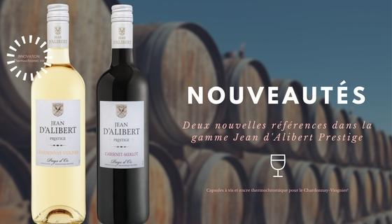 Nouveauté: 2 nouvelles références pour la gamme Jean d'Alibert Prestige